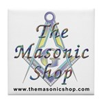 The Masonic Shop Logo Tile Coaster