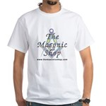 The Masonic Shop Logo White T-Shirt