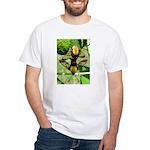 Mating Moths White T-Shirt