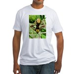Mating Moths Fitted T-Shirt