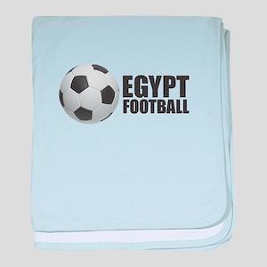 Egypt Football baby blanket