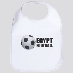 Egypt Football Baby Bib
