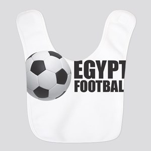 Egypt Football Polyester Baby Bib