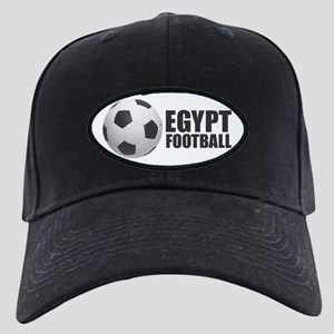 Egypt Football Black Cap with Patch