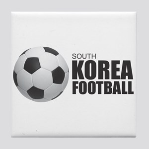 South Korea Football Tile Coaster