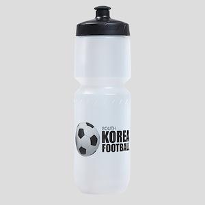 South Korea Football Sports Bottle