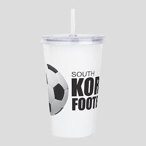 South Korea Football Acrylic Double-wall Tumbler