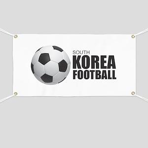South Korea Football Banner