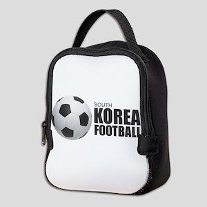 South Korea Football Neoprene Lunch Bag