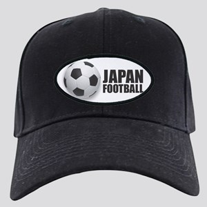 Japan Football Black Cap with Patch