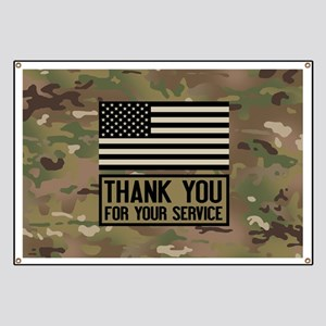 Thank You For Your Service Banner