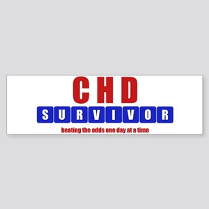 CHD SURVIVOR Bumper Sticker