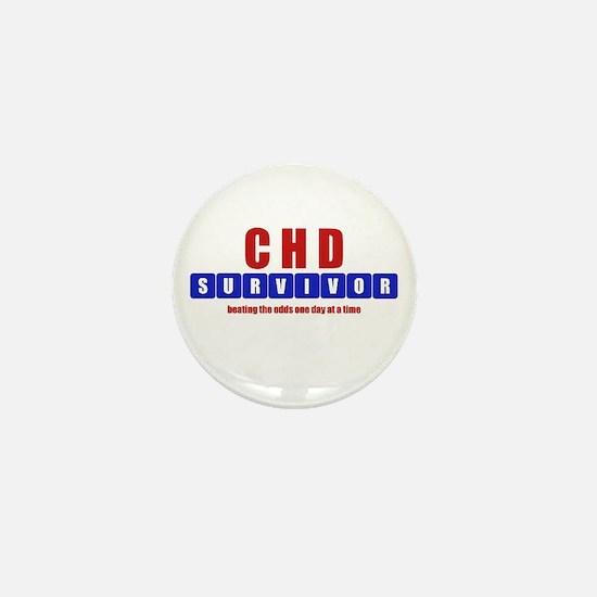 CHD SURVIVOR Mini Button
