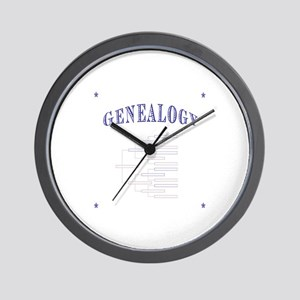 Genealogy Wall Clock