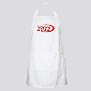 Class of 2012 Red BBQ Apron