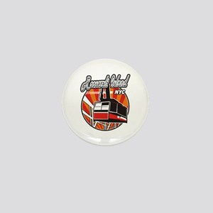 Roosevelt Island Tram Logo Mini Button