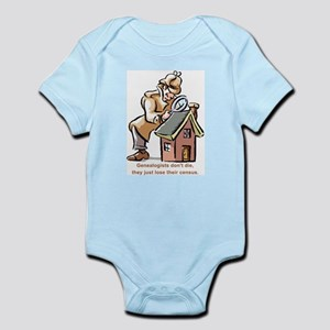 Genealogists Don't Die Infant Creeper