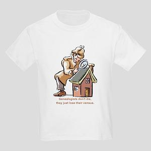 Genealogists Don't Die Kids T-Shirt