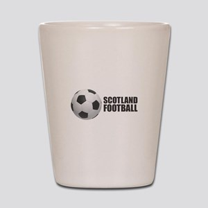 Scotland Football Shot Glass