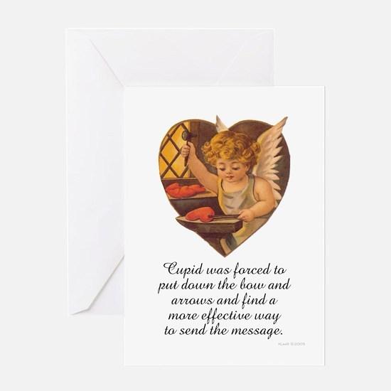 Cupid's Anvil.jpg Greeting Cards