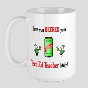 Tech Ed Teacher Large Mug