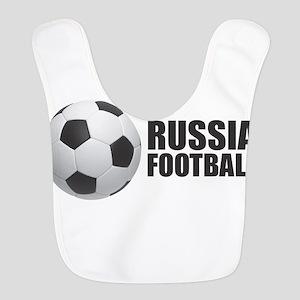 Russia Football Polyester Baby Bib