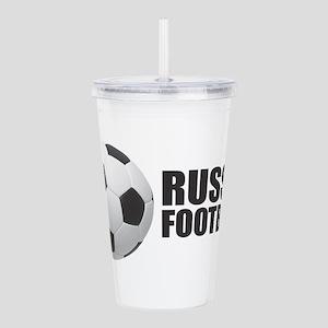 Russia Football Acrylic Double-wall Tumbler