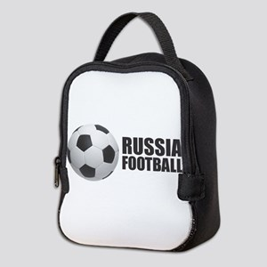 Russia Football Neoprene Lunch Bag