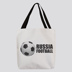 Russia Football Polyester Tote Bag