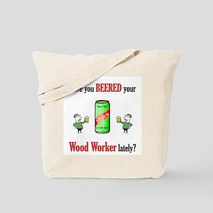 Wood Worker Tote Bag