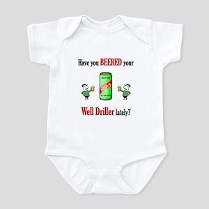 Well Driller Infant Bodysuit