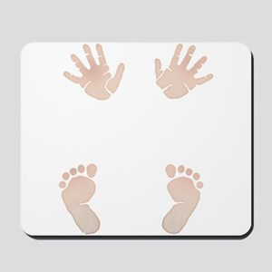 Baby_Hands_and_Feet_Maternity_Exc1 Mousepad