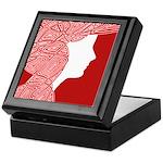 Red Lady Keepsake Box