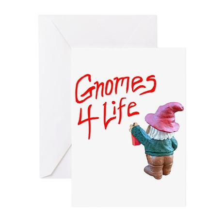 Gnome Graffiti Greeting Cards (Pk of 20)