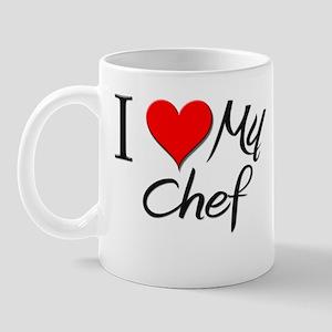 I Heart My Chef Mug