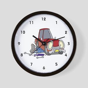 Auto Mechanic Wall Clock