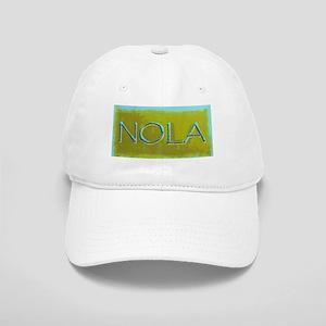 NOLA OLIVE TURQ Cap