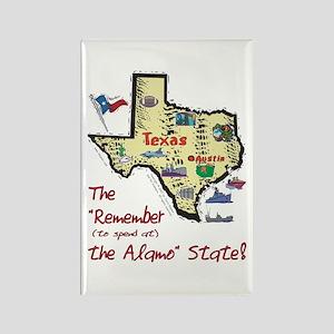 TX-Alamo! Rectangle Magnet