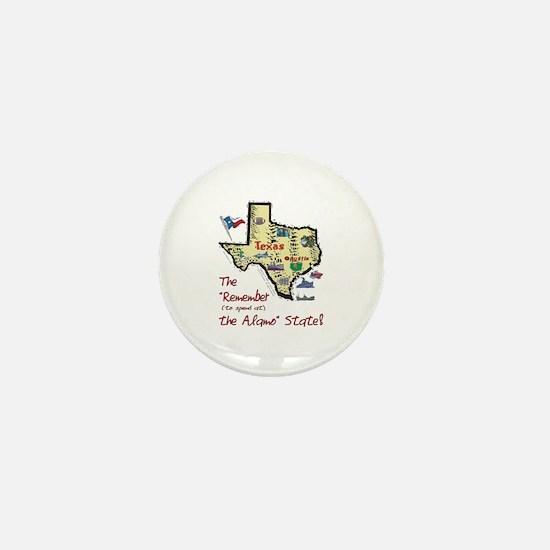 TX-Alamo! Mini Button