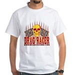 DRAG RACER White T-Shirt