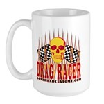 DRAG RACER Large Mug