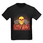 DRAG RACER Kids Dark T-Shirt