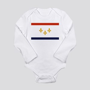 New Orleans Flag Body Suit