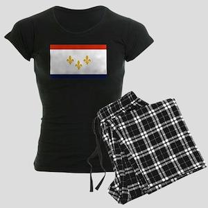 New Orleans Flag Pajamas