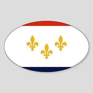 New Orleans Flag Sticker