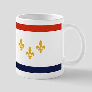 New Orleans Flag Mugs