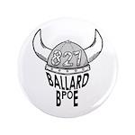 """Ballard Elks Emblem 3.5"""" Button (100 pack)"""