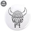 """Ballard Elks Emblem 3.5"""" Button (10 pack)"""