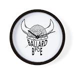 Ballard Elks Emblem Wall Clock