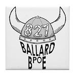 Ballard Elks Emblem Tile Coaster